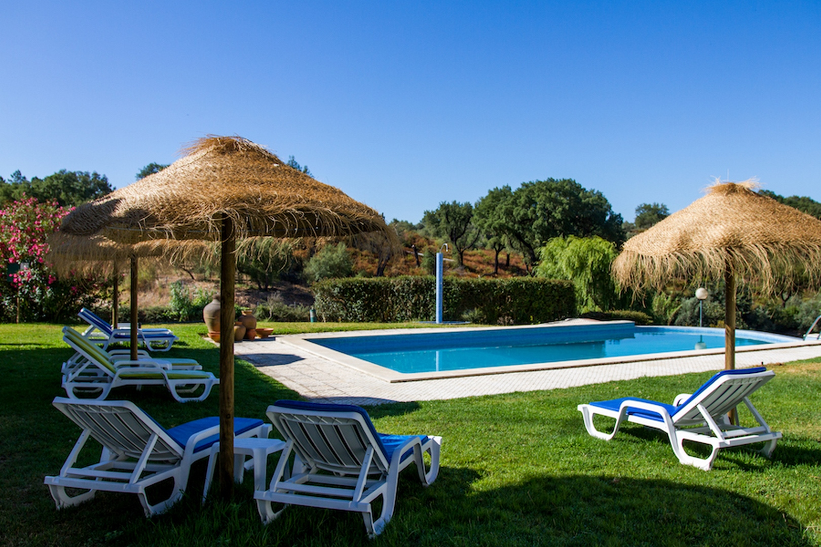 piscine écuries Abrantes Portugal