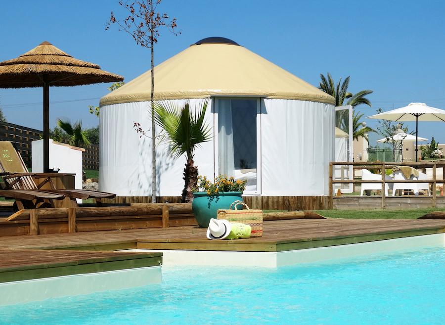 Portugal stage équestre yourte vacances piscine