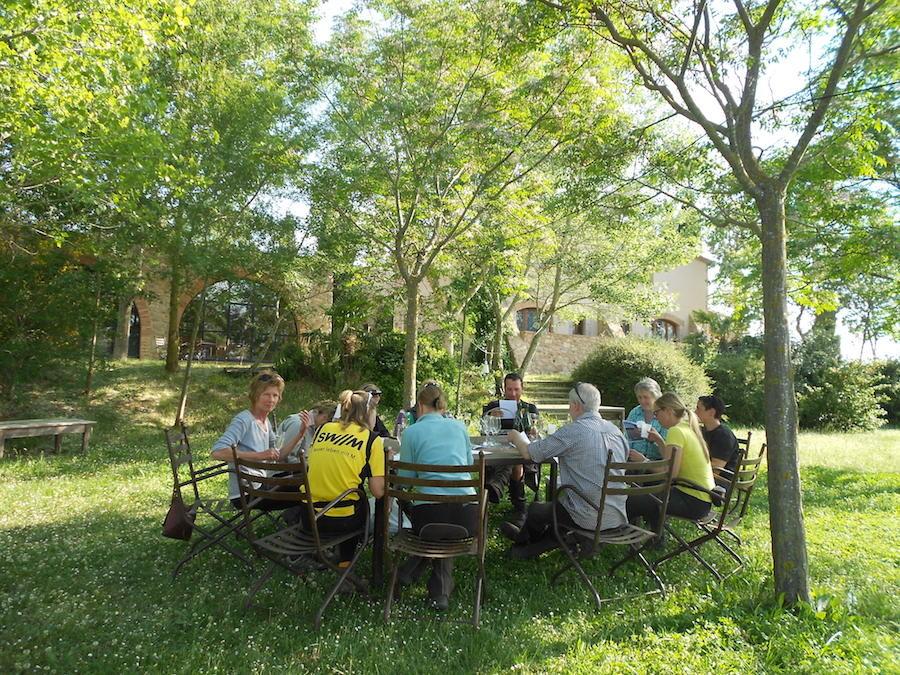 repas randonnée équestre table d'hôtes Catalogne