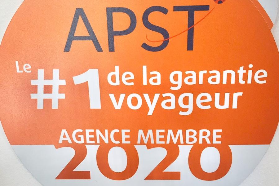 APST garantie financière agent de voyages