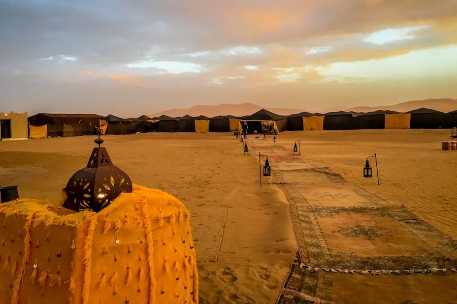 camp luxe Gallops of Morocco