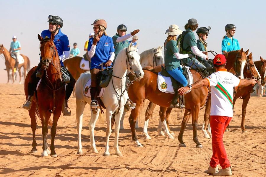 cavaliers endurance raid Gallops of Oman