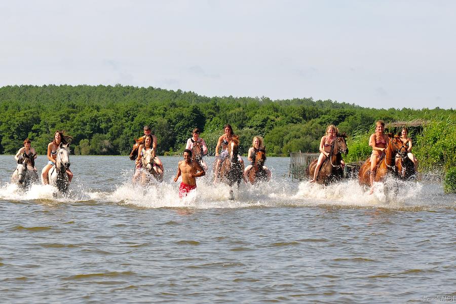 stage ado Landes baignade lac cheval