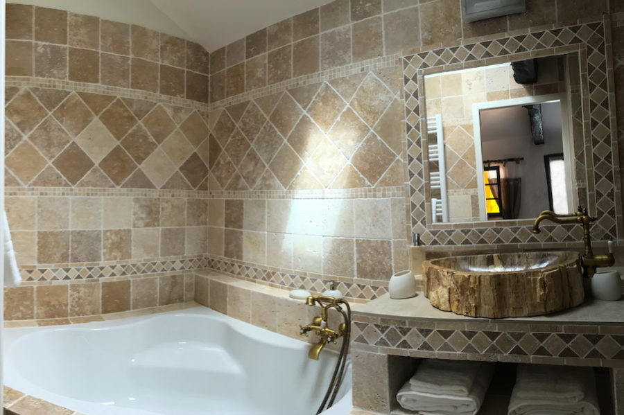 salle de bains chambre d'hôtes Landes