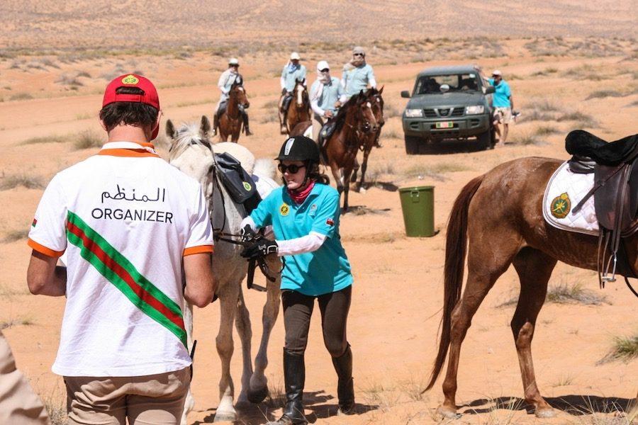 Veterinaire Endurance Gallops of Oman