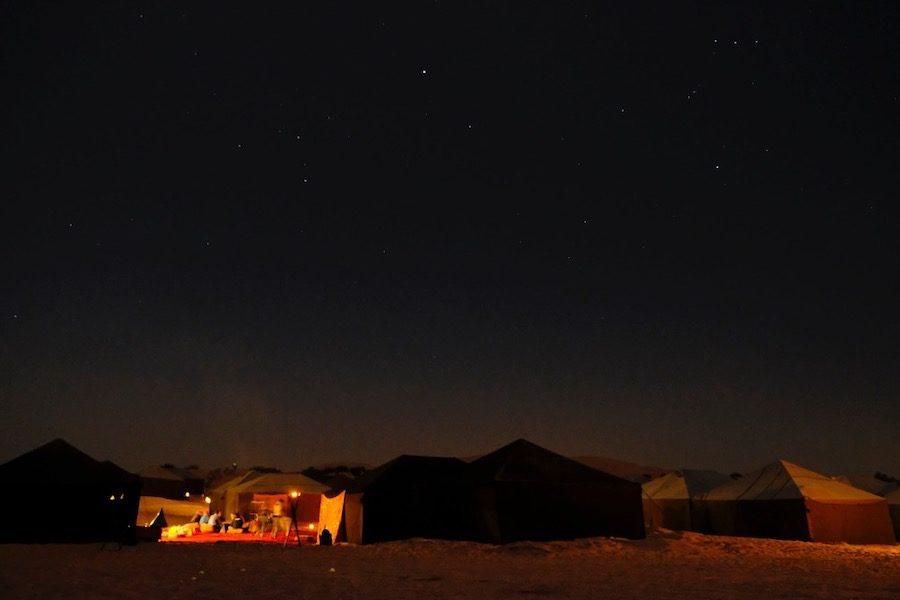 Camp Gallops de nuit