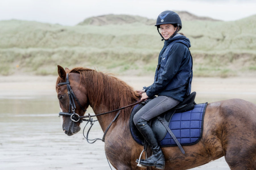 cheval plage Donegal