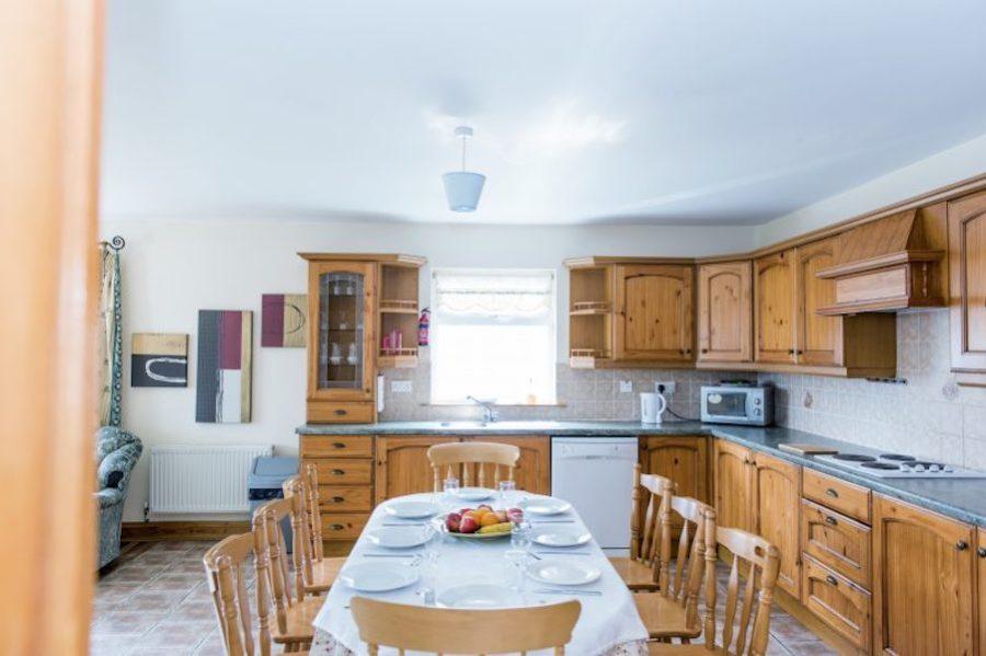 cuisine hébergement ados Donegal