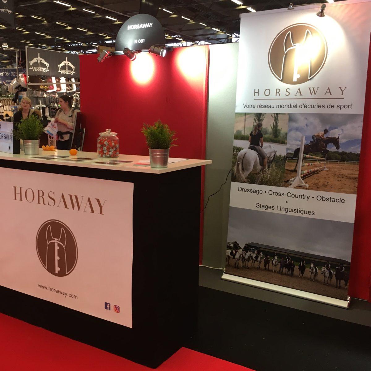 Horsaway au Salon du Cheval de Paris